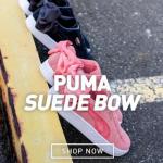 运动鞋时尚最梦幻 PUMA蝴蝶结鞋 激起满满少女心
