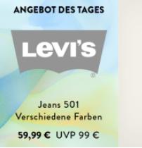 最好的牛仔裤品牌之一 LEVI´S Jeans 501