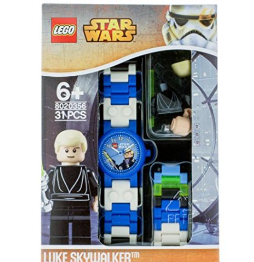 送给宝宝一个有趣又益智的礼物吧 LEGO乐高星球大战手表