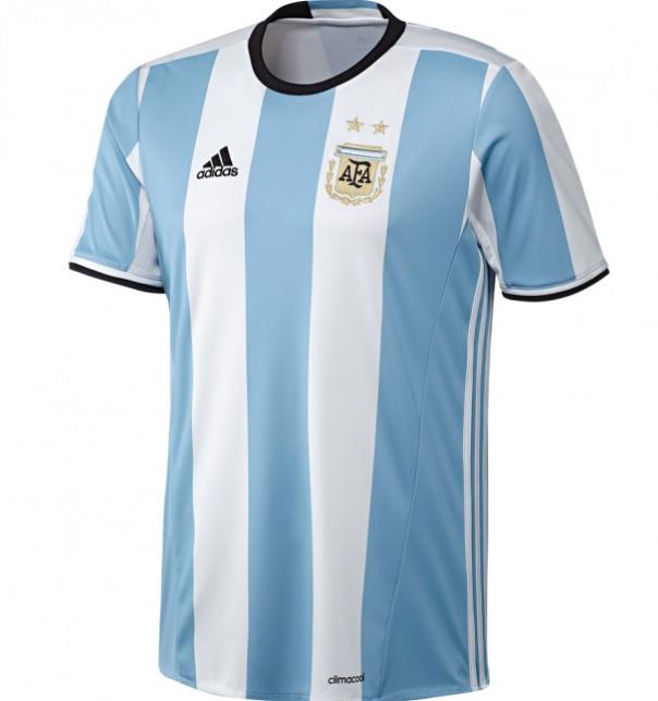 梅西同款!adidas阿根廷队球衣