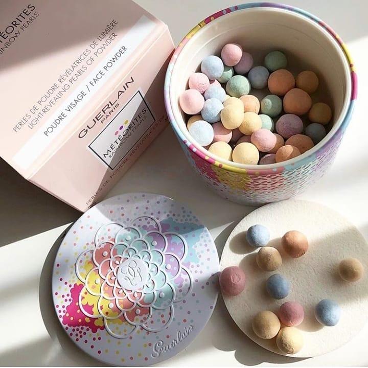 叮咚!今年的限量已到达!GUERLAIN Météorites Rainbow Pearls 娇兰彩虹流星蜜粉球及香氛