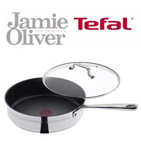 #正在秒杀#Tefal Jamie Oliver 红点平底锅+锅盖