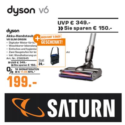 DYSON V6 Slim Origin 无线手持吸尘器