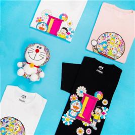 今年最值得收藏的艺术家合作款!Uniqlo 优衣库 X 哆啦A梦联名T恤