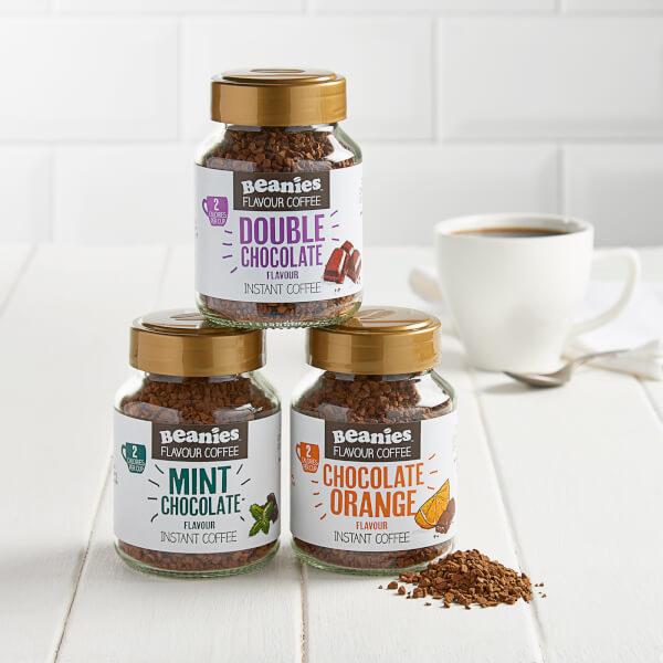 100%无糖,每两克仅0.7大卡! 低卡咖啡 Beanies Coffee