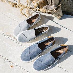 【直邮中国】逛街必备的舒适柔软布鞋Toms