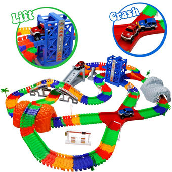 Car Track mit 2 Electric Auto儿童轨道赛车玩具
