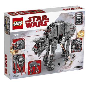 LEGO星战Starwars系列75189重型突击步行机甲