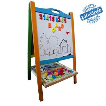 儿童画板双面磁性小黑板