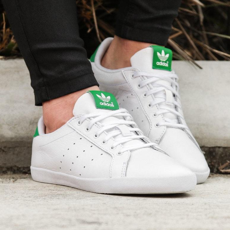 爱来爱去还是最爱小白鞋啦!Adidas Originals miss stan 女士休闲鞋