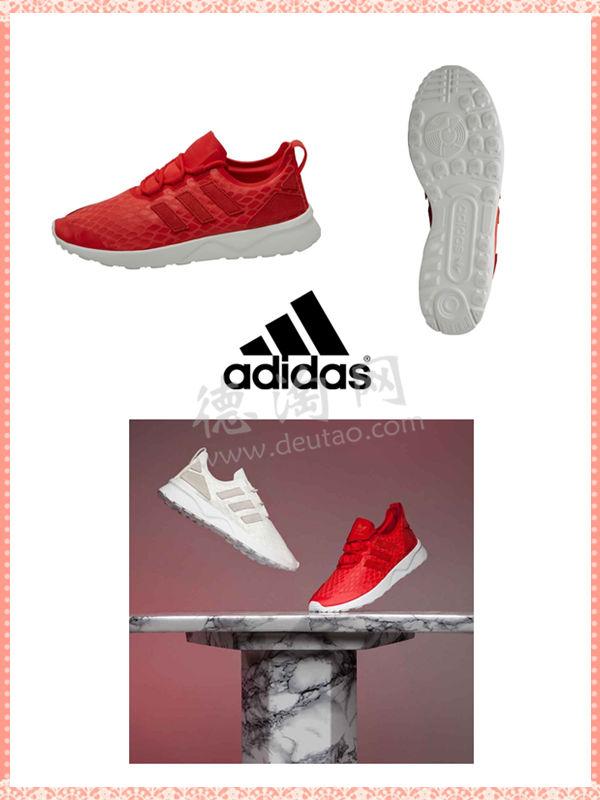 new arrival 5f2b0 690d6 adidas ZX Flux Adv Verve 女鞋超正的红色只要38.95欧!!便宜 ...