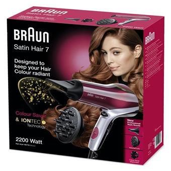 造型党的利器-Braun 博朗satin hair7 HD770 炫色离子电吹风