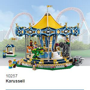 绝版中的绝版10196旋转木马复刻了!!Lego Creator 10257 Karussell 旋转木马!