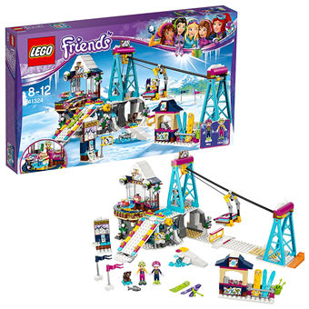 LEGO Friends 41324 滑雪度假村升降缆车