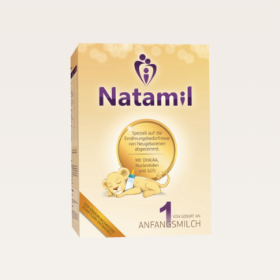 INS上备受宝妈关注的Natamil婴儿配方奶粉,接近母乳配方。