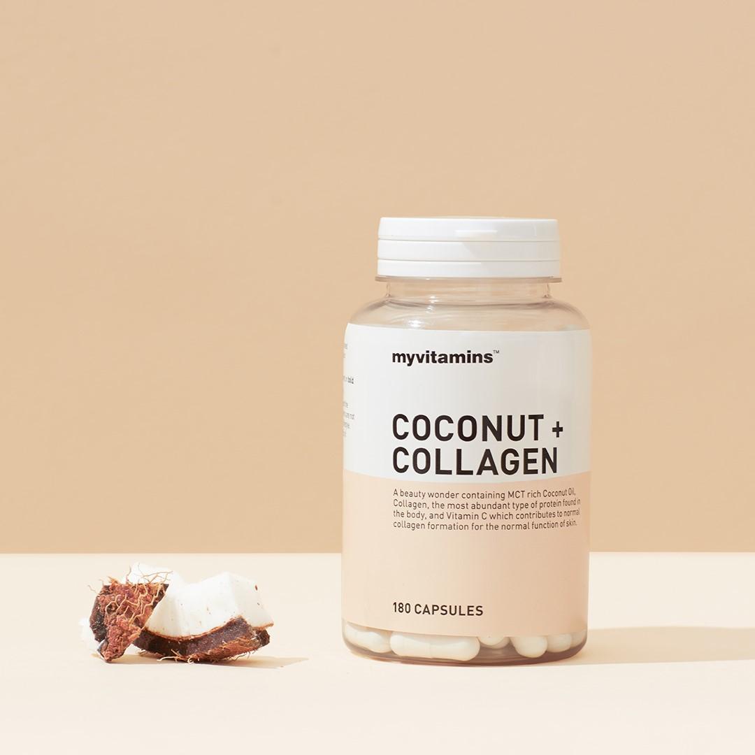 胶原蛋白+椰子油 Collagen+Coconut oil