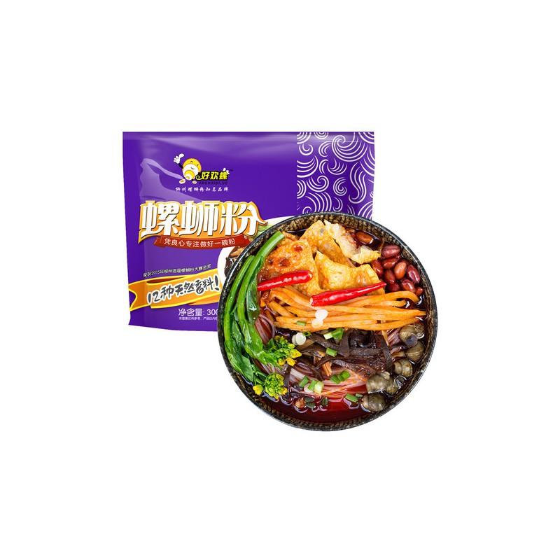 广西特产 好欢螺 螺蛳粉300g 螺蛳粉大赛金奖紫色包装