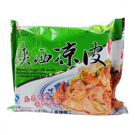 陕西特产 西安秦宗凉皮 香辣味300g