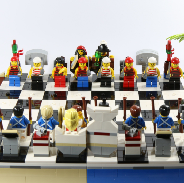 可玩性相当高!LEGO 40158 – Pirates 2015 海盗国际象棋