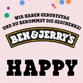 Ben&Jerry's Tour 2018