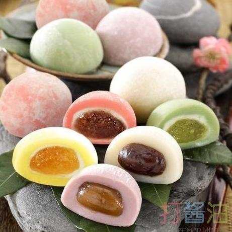 台湾原产零食和风麻糬-混合450g