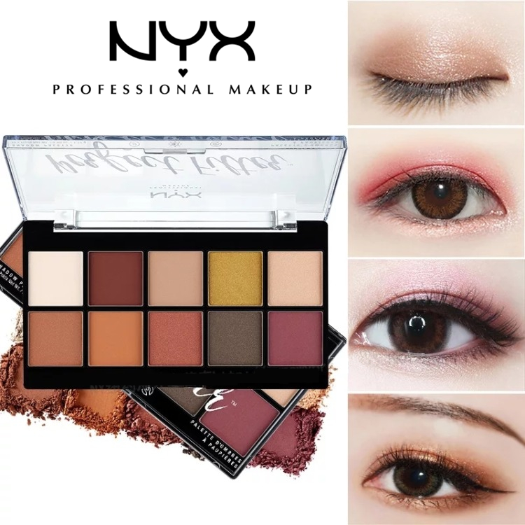 比16色还好看还实用的–NYX  Perfect Filter 10色眼影盘