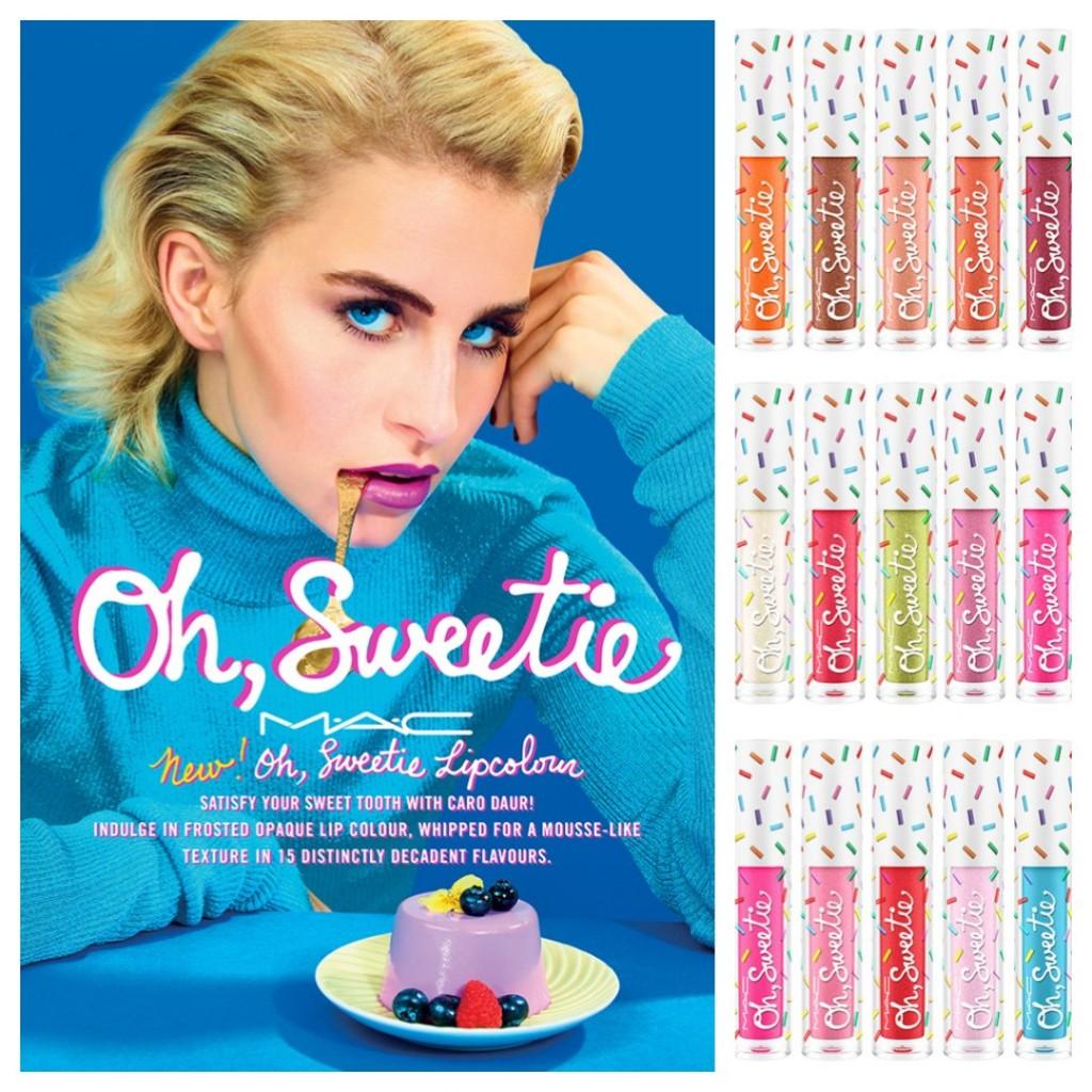 甜甜的少女系 MAC Oh, Sweetie 限量糖果唇釉