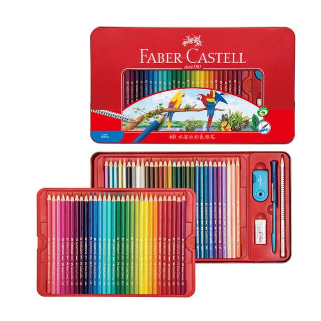 德国辉柏嘉 Faber-Castell 1159 48色水溶性彩铅礼盒