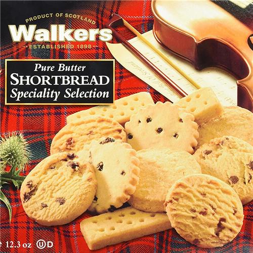 吮指的美味 苏格兰Walkers黄油饼干 (综合装)