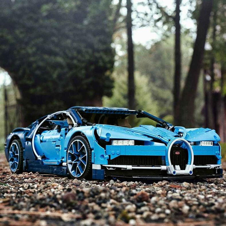 大人的梦幻玩具新篇章 乐高 Bugatti Chiron 1:8 隆重登场!