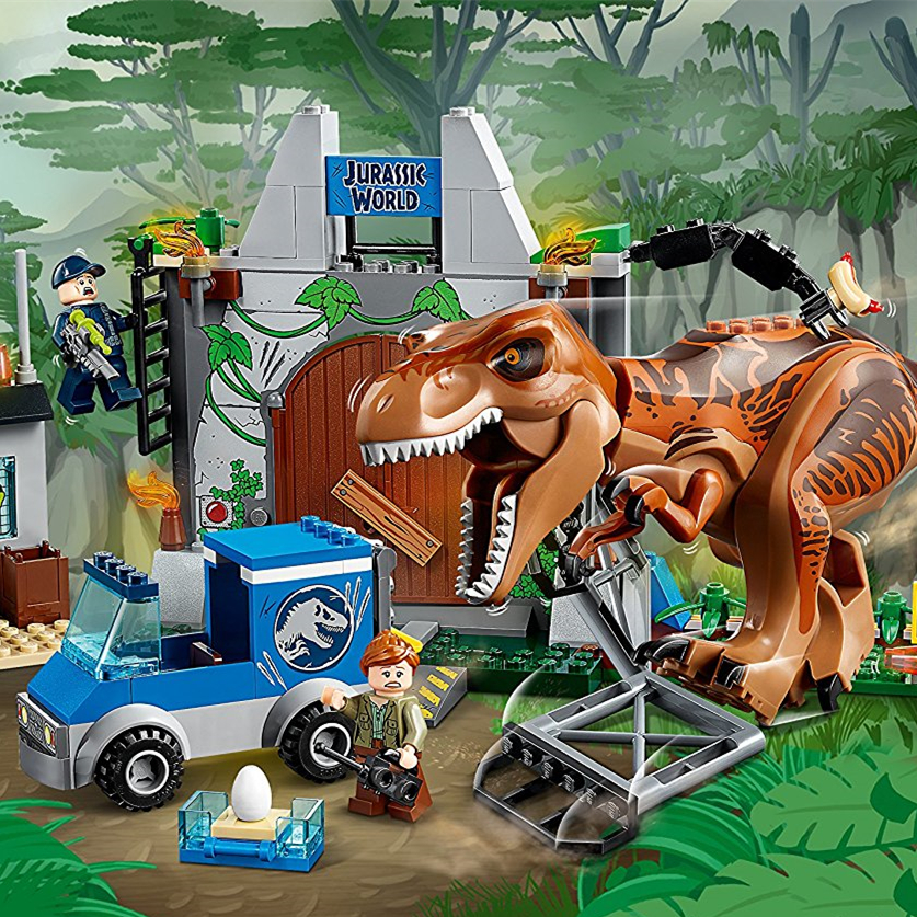 Lego Juniors Ausbruch des Tyrannosaurus Rex 10758 霸王龙大逃亡