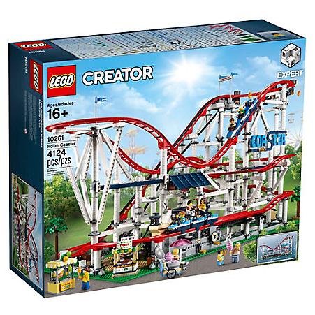 乐高LEGO推出超大过山车拼装玩具