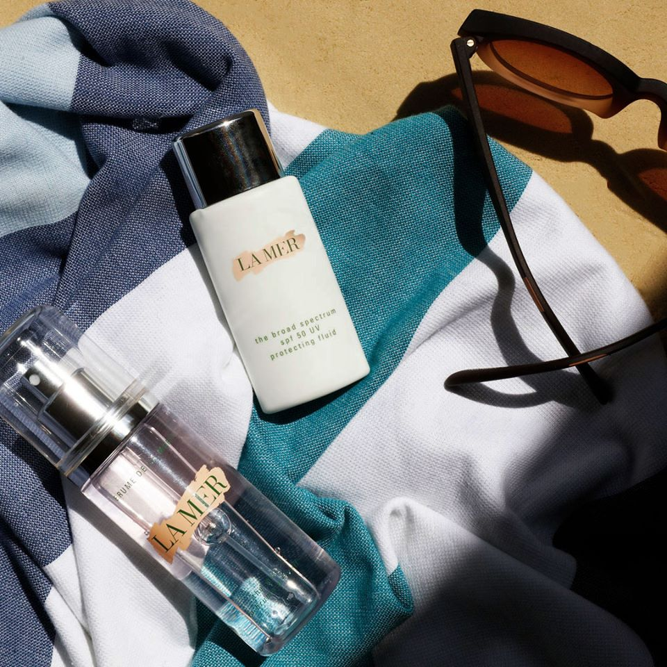 La Mer UV-Protecting SPF50清透修护防晒隔离乳