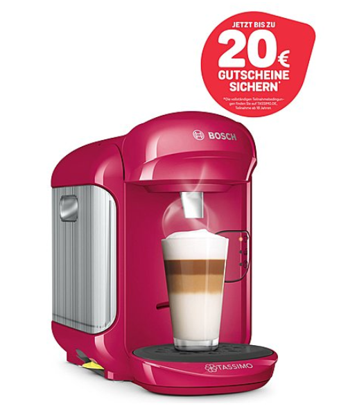 BOSCH 厨房小家电特卖!Tassimo Vivy 2胶囊咖啡机仅售29.99欧 多功能厨师机仅售129.99欧!