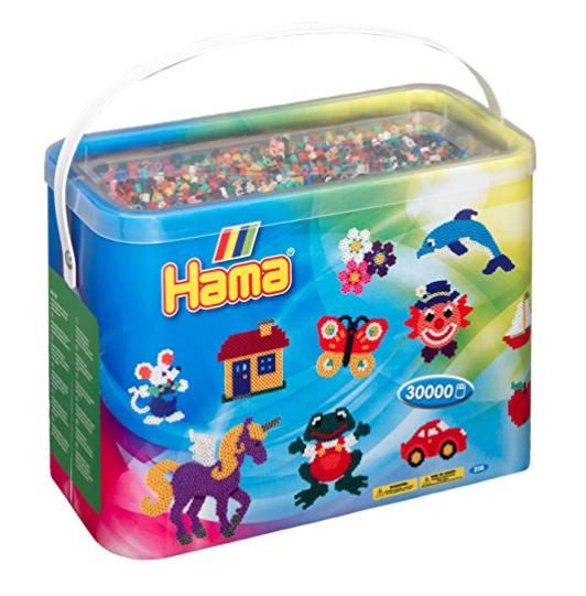 给孩子无穷的创造力 Hama Eimer mit Bügelperlen 儿童DIY拼豆豆玩具