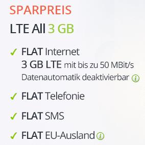 德国全网通话包打+1GB LTE高速上网手机卡