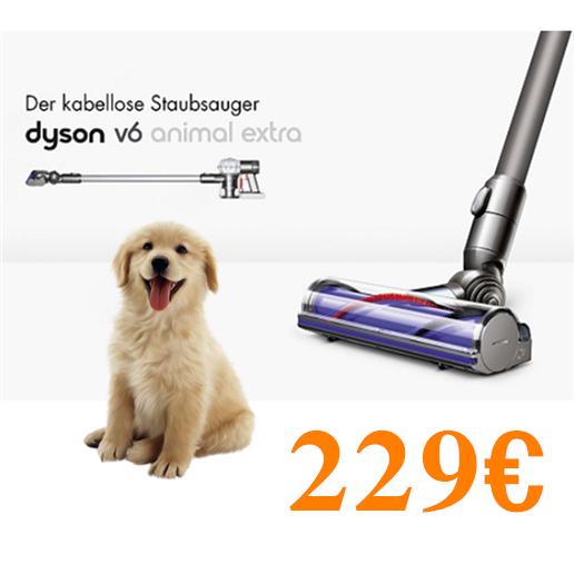 Dyson V6 Animal Extra 无线吸尘器