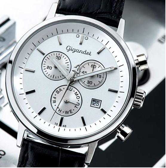 #正在秒杀# 便宜有好货!Gigandet CLASSICO G6 男士腕表