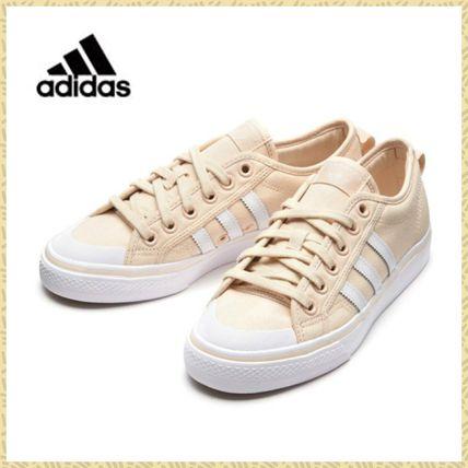 Adidas NIZZA 女式帆布运动板鞋