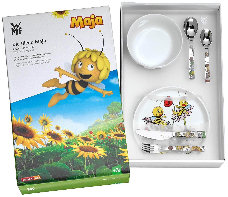 WMF 卡通系列 小蜜蜂Maja 儿童餐具六件套