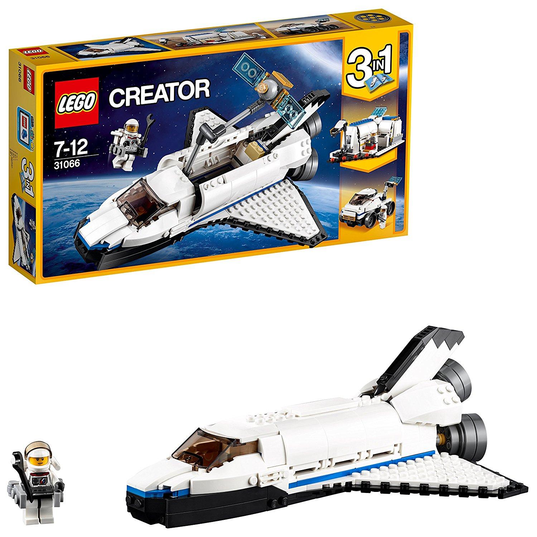 LEGO 31066 – Forschungs-Spaceshuttle 三合一探索太空空间站飞船