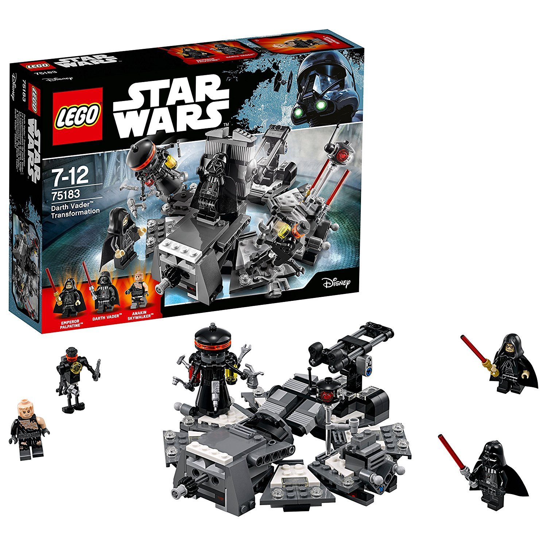 Lego Star Wars 75183 乐高星球大战黑武士