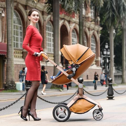 HOT MOM多用途可折叠婴儿车