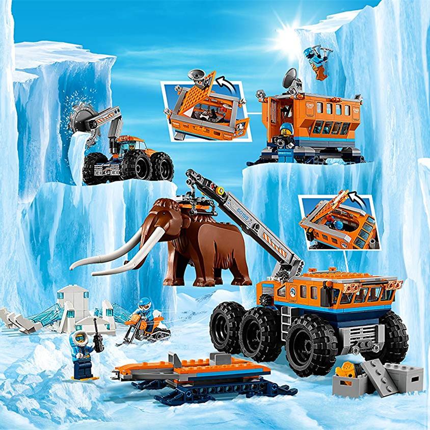 Lego 乐高 City城市系列 60195极地移动勘探基地