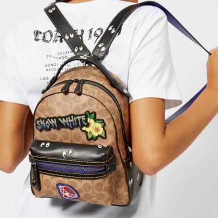 【直邮中国】Coach蔻驰X迪士尼合作系列 限量1941徽章双肩包