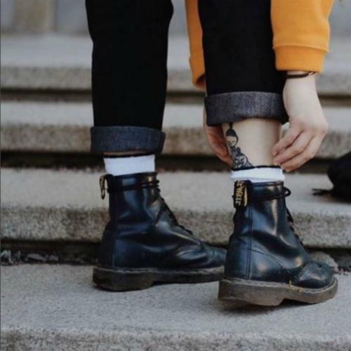 凹造型必备 秒变大长腿 Dr. Martens 马丁靴