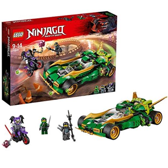 Lego Ninjago 70641 乐高忍者系列 劳埃德的高速连发夜行战车