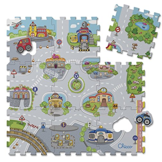 Chicco Puzzle Matten City 拼图地毯