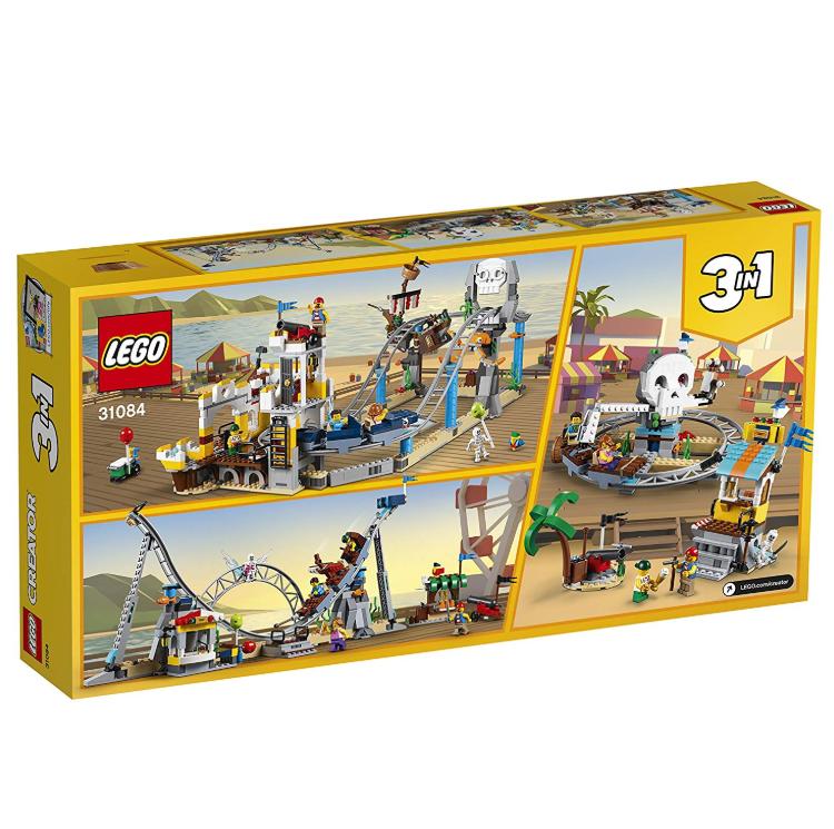 Lego 31084 乐高三合一海岛过山车