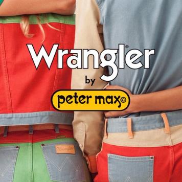 联手重现70 年代复古时尚!Wrangler x Peter Max联名系列男女装